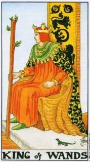 Карта Таро: Король Жезлов